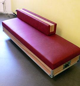 sofa ohne lehne perfect wenn das sofa mit der rckseite an der wand zu stehen kommt und man. Black Bedroom Furniture Sets. Home Design Ideas